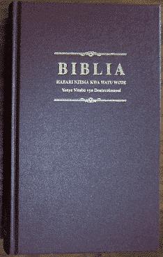 Biblia Habari Njema yenye CLDC053P