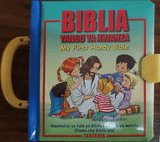 My first handy Bible – Children Swah/English Bible (MFHB-Diglot)
