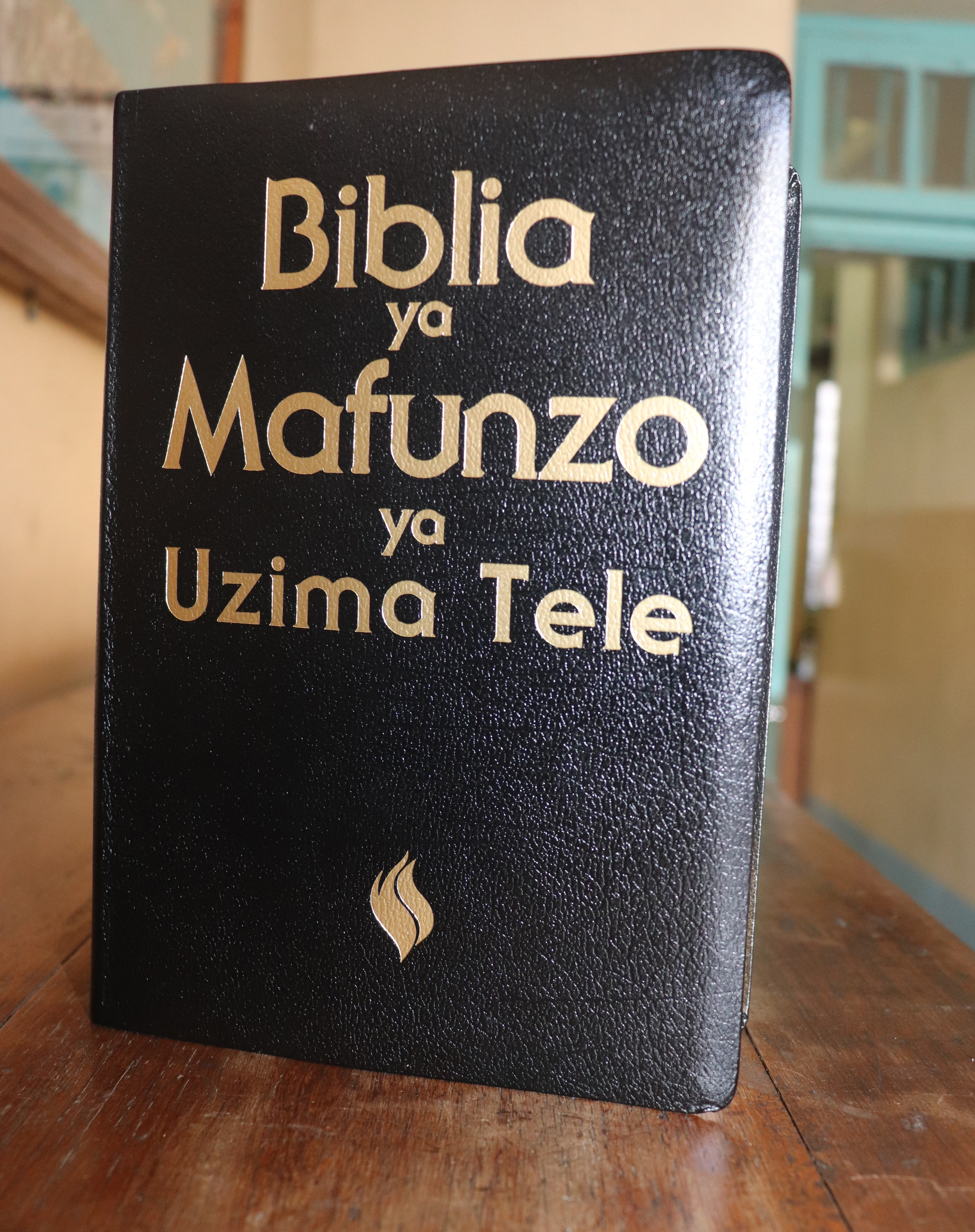 Biblia ya Mafunzo ya Uzima Tele ya Gold